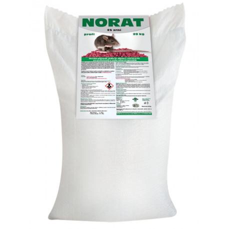 Norat zrní profi /25 ppm/ 20 kg